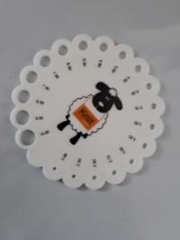 Линейка для измерения диаметра спиц (Код: 1)